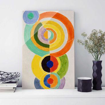 Produktfoto Glasbild - Kunstdruck Robert Delaunay -...
