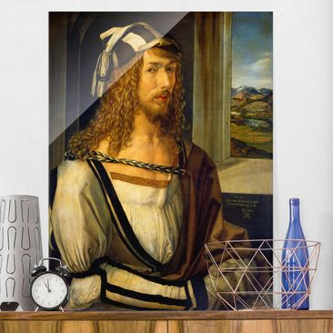 Product picture Print on Glass - Albrecht Dürer -...