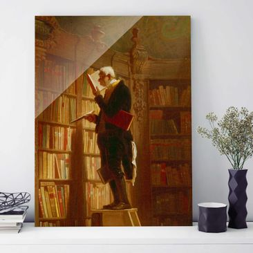Product picture Print on Glass - Carl Spitzweg - The...