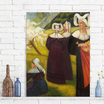 Produktfoto Glasbild - Kunstdruck Emile Bernard -...