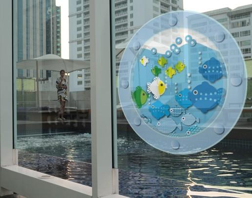 Produktfoto Fensterfolie - Fenstersticker No.UL449 Meerblick - Fensterbilder
