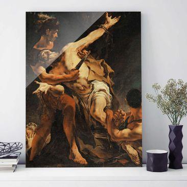 Immagine del prodotto Quadro in vetro - Giovanni Battista Tiepolo - The Martyrdom of St. Bartholomew - Verticale 4:3
