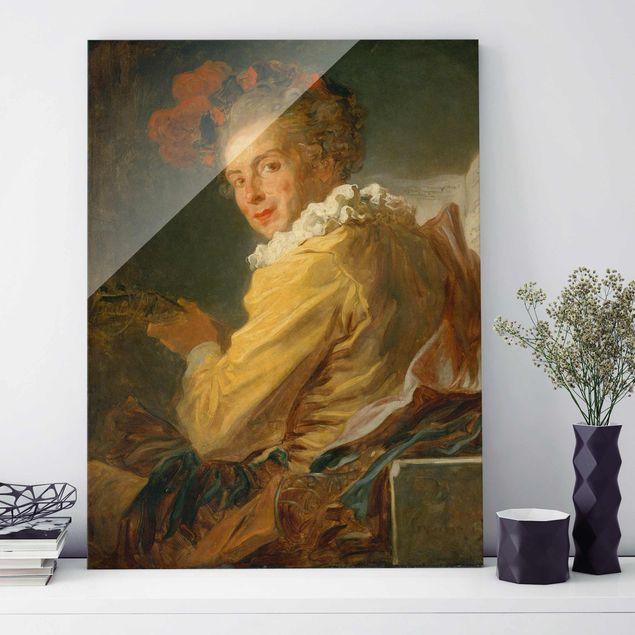 Produktfoto Glasbild - Kunstdruck Jean Honoré...