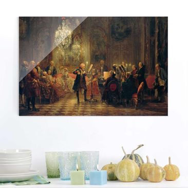 Product picture Print on Glass - Adolph von Menzel -...