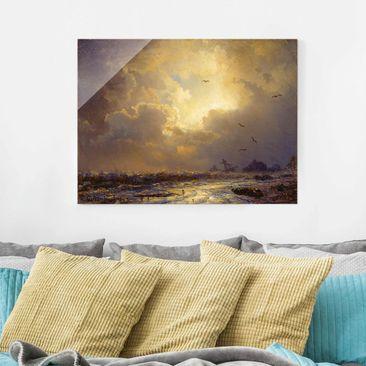 Immagine del prodotto Quadro in vetro - Andreas Achenbach - After the Storm - Orizzontale 3:4