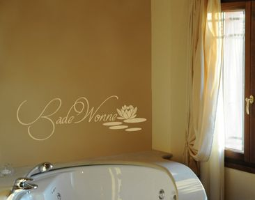 Product picture Wall Decal No.UL67 Badewonne