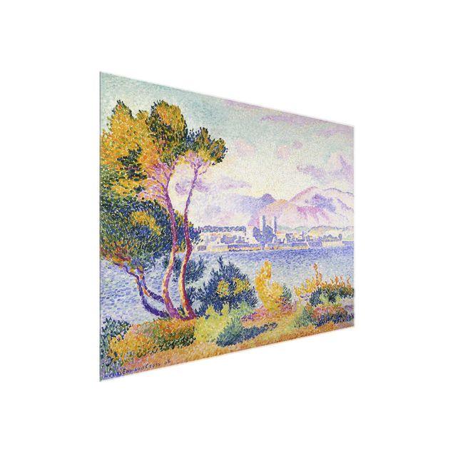 Produktfoto Glasbild - Kunstdruck Henri Edmond Cross...