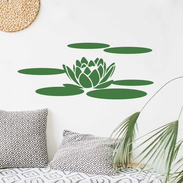 Product picture Wall Decal No.UL68 Waterlilly