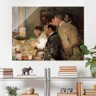 Produktfoto Glasbild - Kunstdruck Joaquin Sorolla - Die Forschung - Quer 3:4