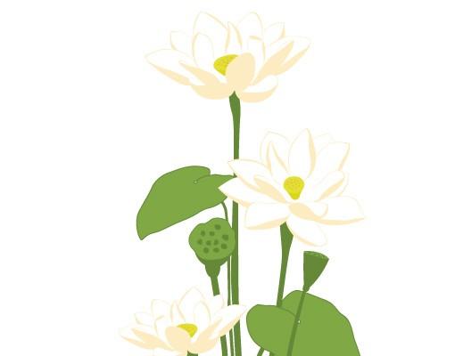 Produktfoto Wandtattoo No.FB3 Lotus