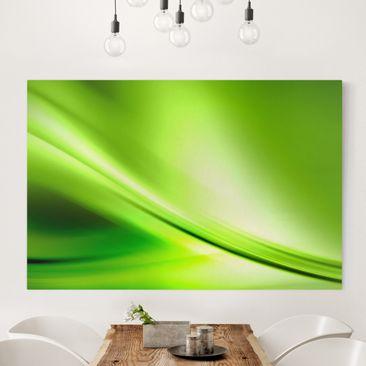 Immagine del prodotto Stampa su tela - Green Valley - Orizzontale 2:3