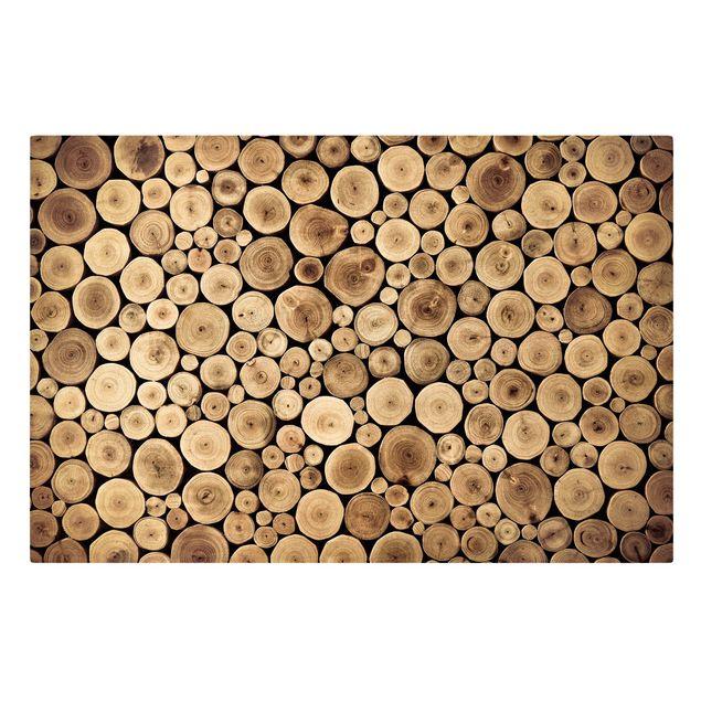 Produktfoto Leinwandbild - Homey Firewood - Quer 2:3