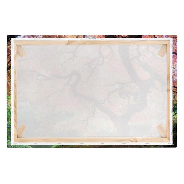 Produktfoto Leinwandbild - Japanischer Garten - Quer 2:3, Keilrahmen Rückseite, Artikelnummer 205313-FB