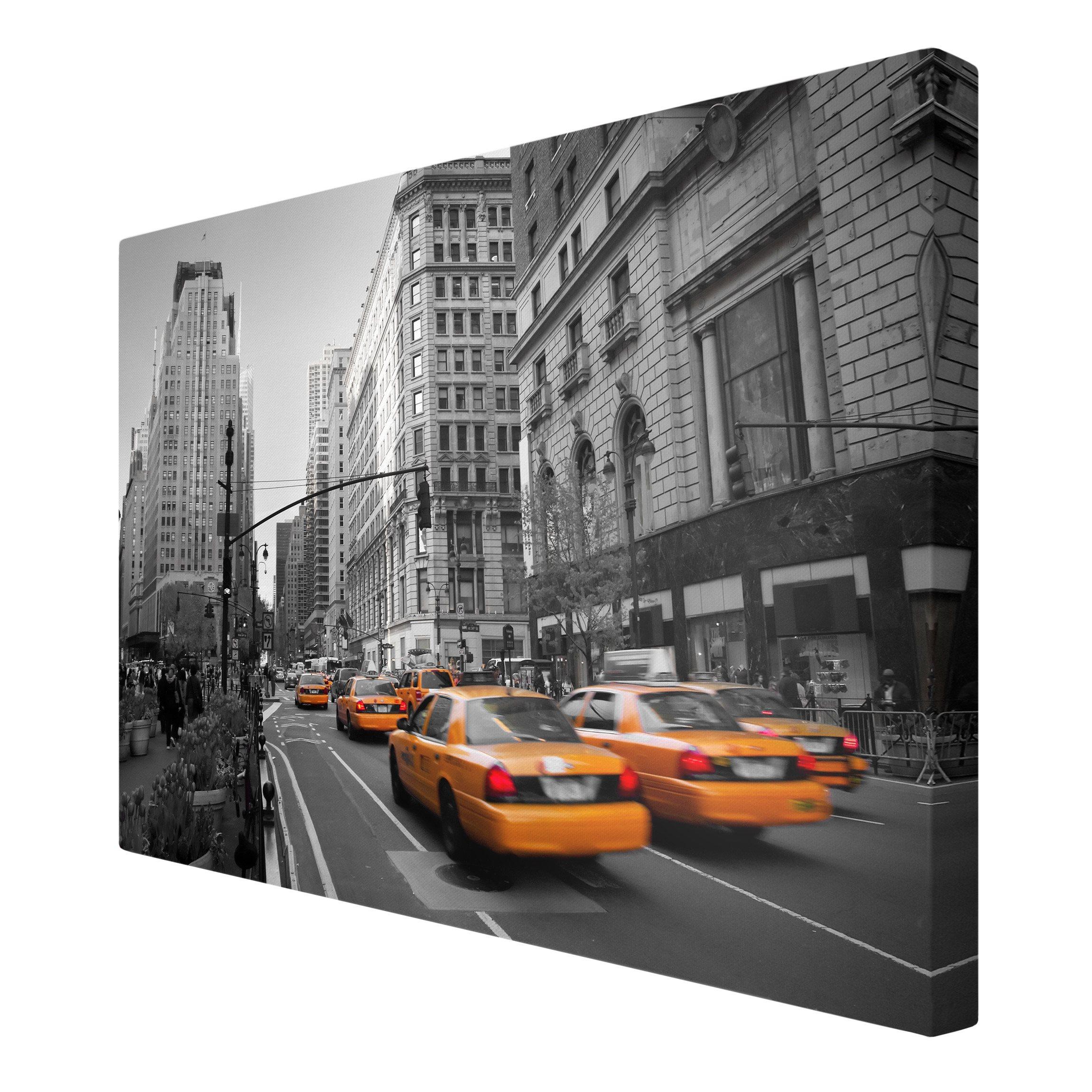 leinwandbild schwarz wei 223 new york new york quer 2 3
