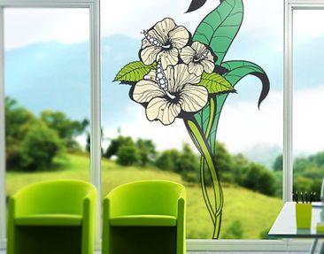 Immagine del prodotto Adesivi da finestra no.TA64 Hibiscus
