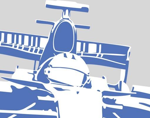 Produktfoto Fensterfolie - Fenstersticker No.EG4 Rennauto - Fensterbilder