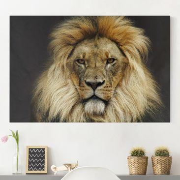 Immagine del prodotto Stampa su tela - Wisdom of Lion - Orizzontale 2:3