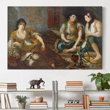 Immagine del prodotto Stampa su tela - Eugène Delacroix - The Women of Algiers - Orizzontale 2:3