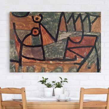 Produktfoto Leinwandbild - Paul Klee - Finstere...