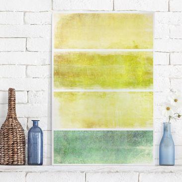 Produktfoto Leinwandbild - Colour Harmony Yellow - Hoch 3:2, vergrößerte Ansicht in Wohnambiente, Artikelnummer 205950-XWA