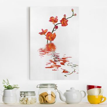 Produktfoto Leinwandbild - Flamy Orchid Waters -...