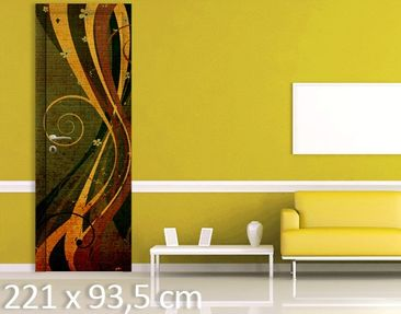 Product picture Door Wall Mural Asian Flower