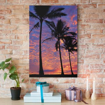 Product picture Canvas Art - Palms - Portrait Format 3:2
