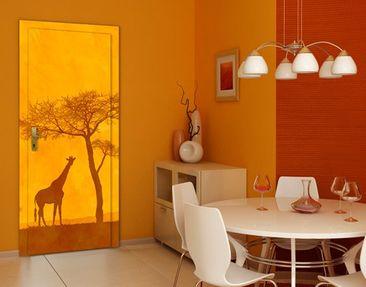 Produktfoto Türtapete Afrika selbstklebend - Amazing Kenya