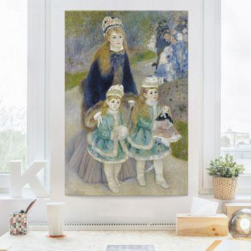Produktfoto Leinwandbild - Auguste Renoir - Mutter und Kinder - Hoch 3:2, vergrößerte Ansicht in Wohnambiente, Artikelnummer 206074-XWA