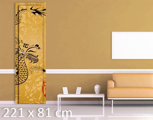 Produktfoto TürTapete Chinese Dragon