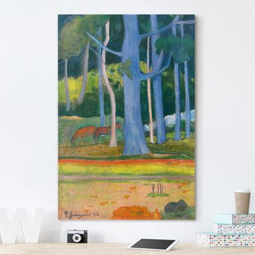Product picture Canvas Art - Paul Gauguin - Landscape...