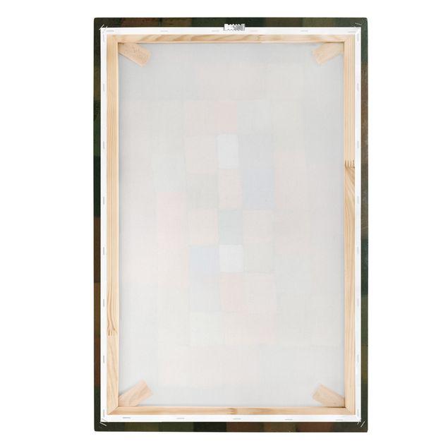 Produktfoto Leinwandbild - Paul Klee - Statisch-Dynamische Steigerung - Hoch 3:2, Keilrahmen Rückseite, Artikelnummer 206109-FB