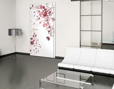 Product picture Door Wall Mural Apricot Blossom