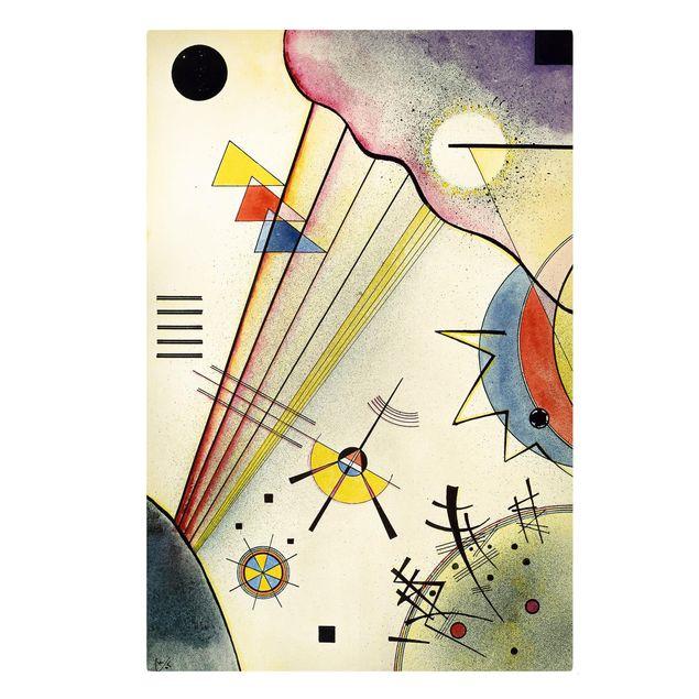 Produktfoto Leinwandbild - Wassily Kandinsky - Deutliche Verbindung - Hoch 3:2, Frontalansicht, Artikelnummer 206118-FF