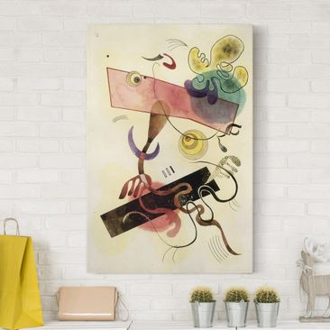 Product picture Canvas Art - Wassily Kandinsky - Taches:...