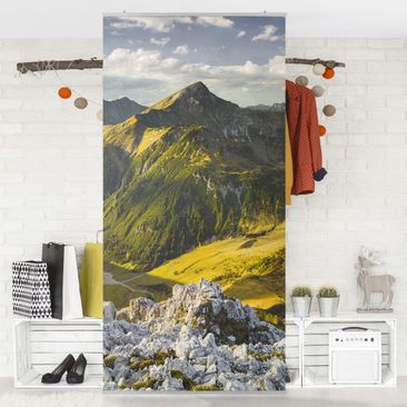 Immagine del prodotto Tenda a pannello - Mountains and valley of the Lechtal Alps in Tirol 250x120cm