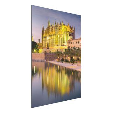 Produktfoto Alu-Dibond - Catedral de Mallorca...