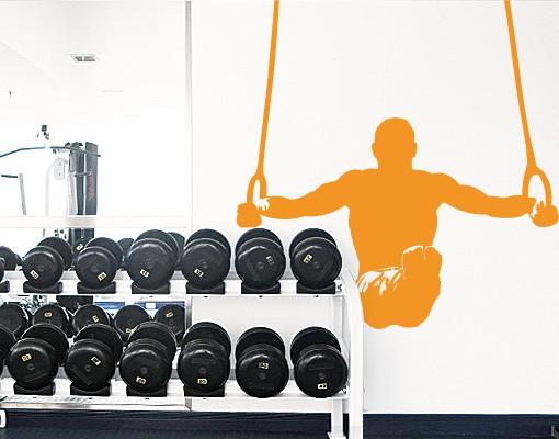 Produktfoto Wandtattoo Kinderzimmer No.FB5 Athlet