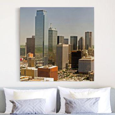 Produktfoto Leinwandbild - Impressive Dallas -...
