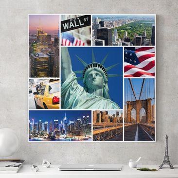 Produktfoto Leinwandbild - Impressive New York -...