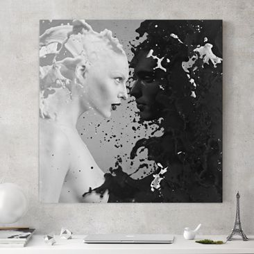 Produktfoto Canvas Art - Milk & Coffee II - Square...