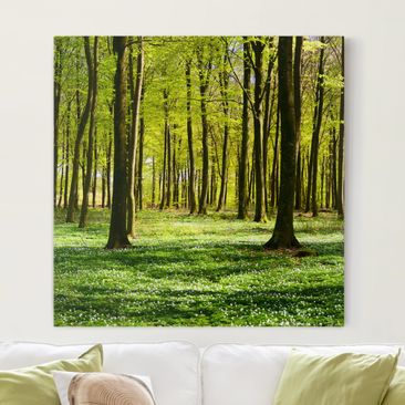Product picture Canvas Art - Glade - Square Format 1:1
