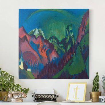 Immagine del prodotto Stampa su tela - Ernst Ludwig Kirchner -...