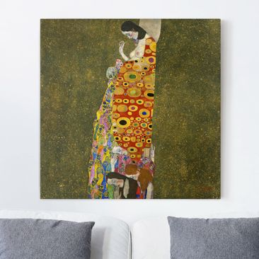 Immagine del prodotto Stampa su tela - Gustav Klimt - Hope - Quadrato 1:1