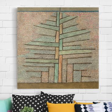Product picture Canvas Art - Paul Klee - Pine - Square...