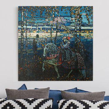Immagine del prodotto Stampa su tela - Wassily Kandinsky - Couple Riding - Quadrato 1:1