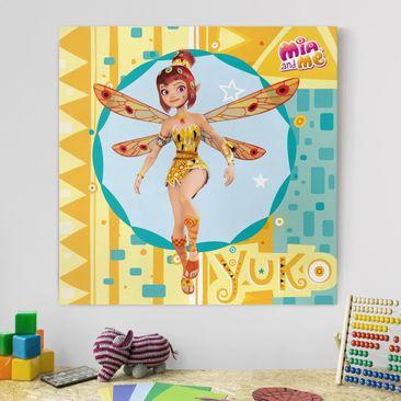 Produktfoto Leinwandbild - Mia and me - Elfe Yuko - Quadrat 1:1, vergrößerte Ansicht in Wohnambiente, Artikelnummer 207013-XWA