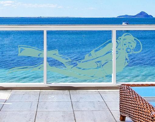 Produktfoto Fensterfolie - Fenstertattoo No.EG8...