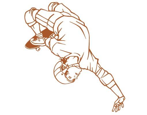 Produktfoto Wandtattoo No.FB8 Skateboard Trick