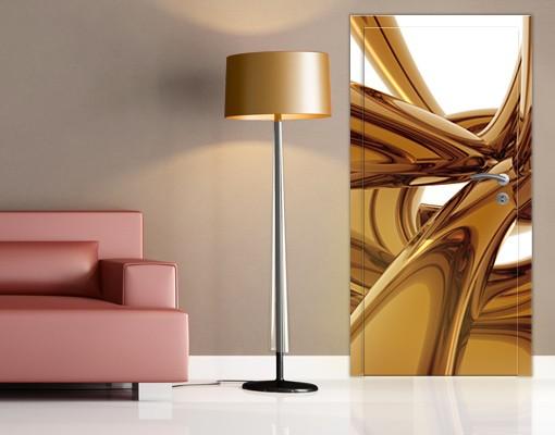Produktfoto TürTapete Golden Brilliance